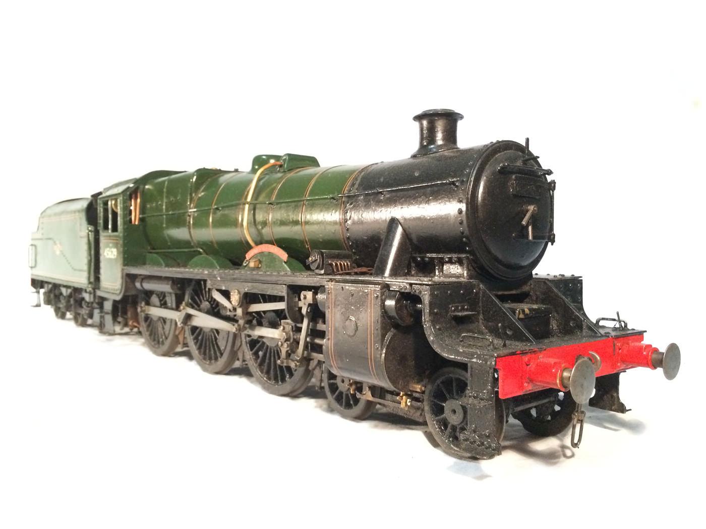 test 3 gauge LMS Stanier Jubilee live steam locomotive for sale 19