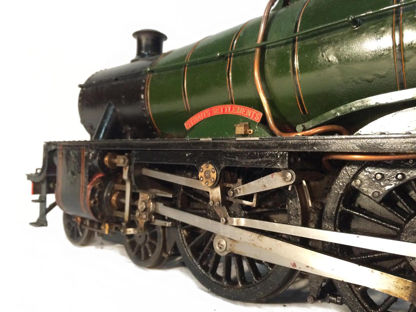 test 3 gauge LMS Stanier Jubilee live steam locomotive for sale 21