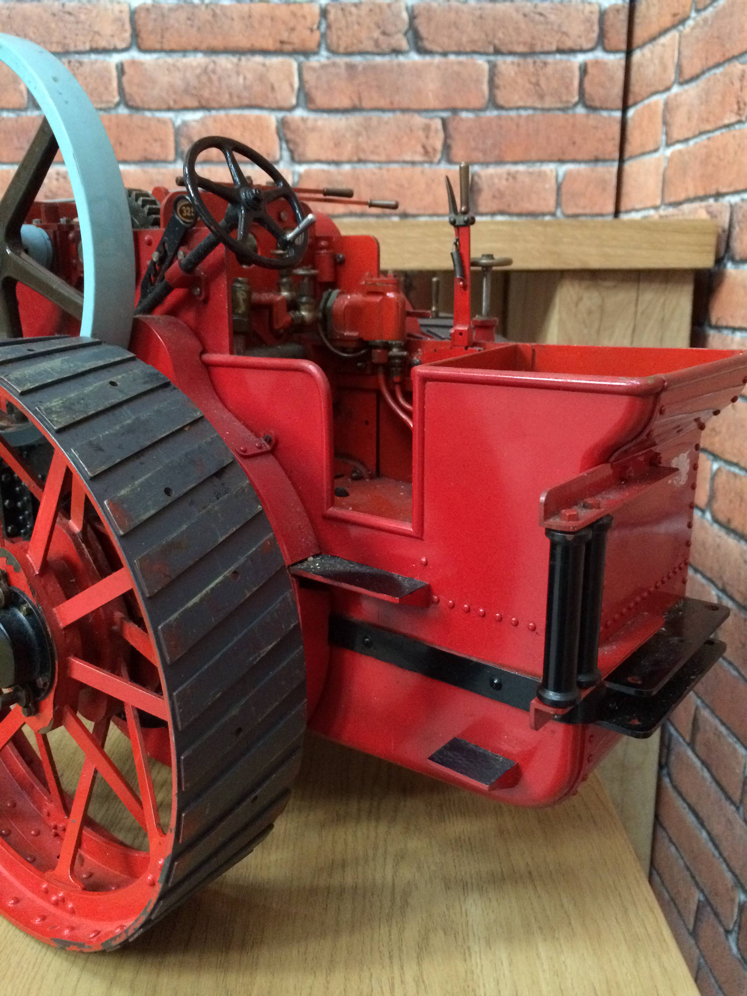 test 1 and a half inch scale royal chester alchin live steam traction engine for sale 06