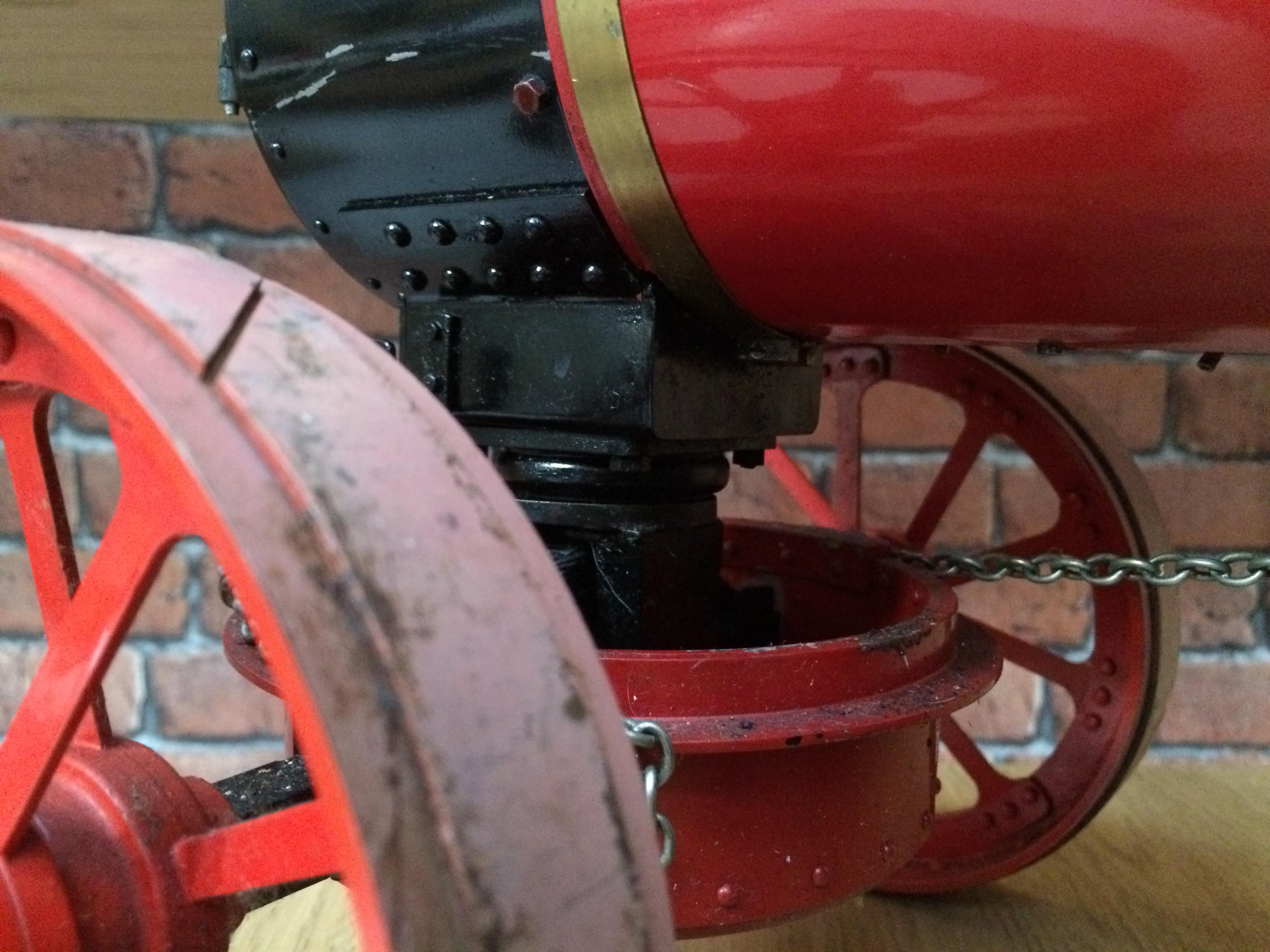 test 1 and a half inch scale royal chester alchin live steam traction engine for sale 07