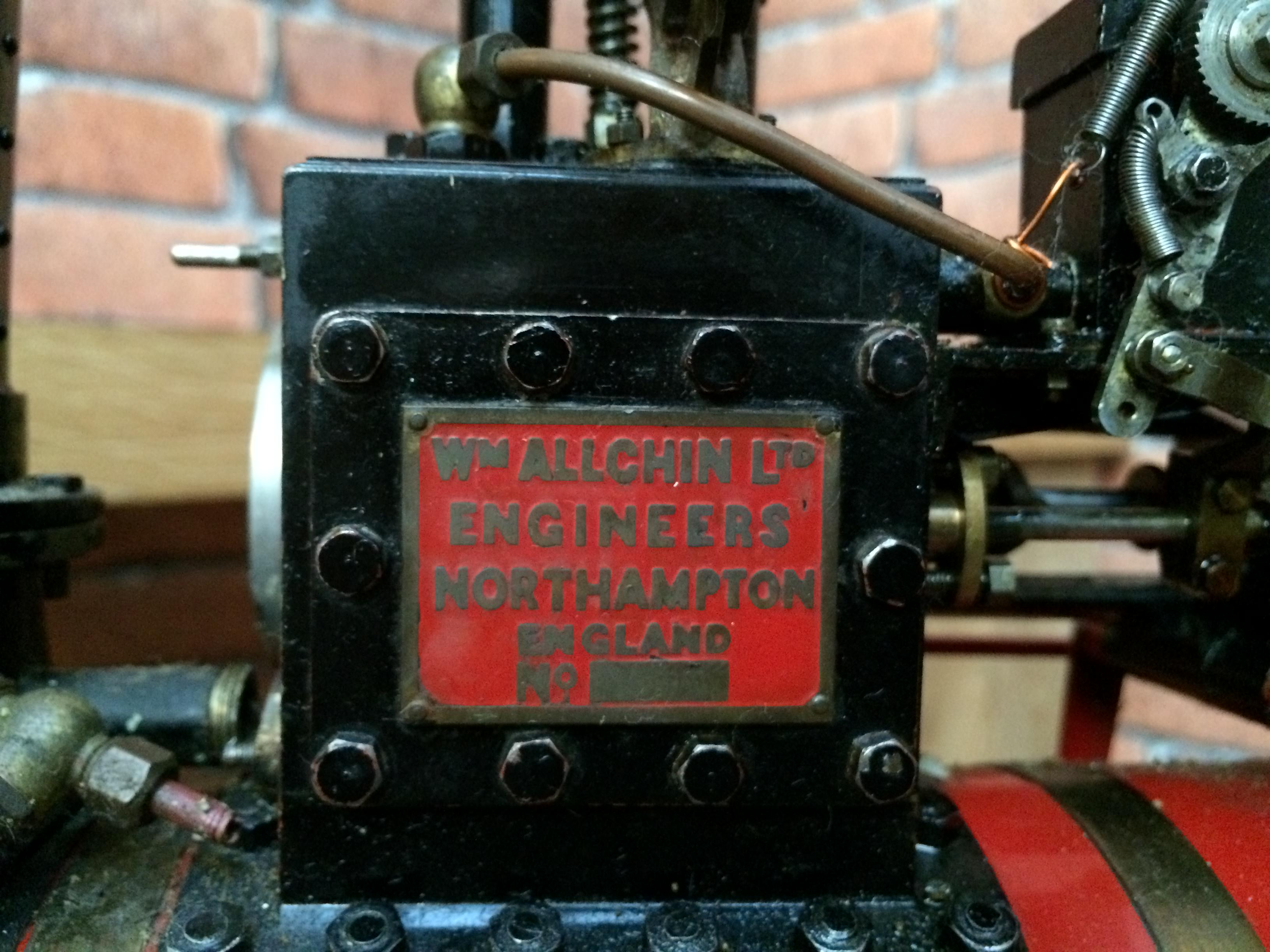 test 1 and a half inch scale royal chester alchin live steam traction engine for sale 09
