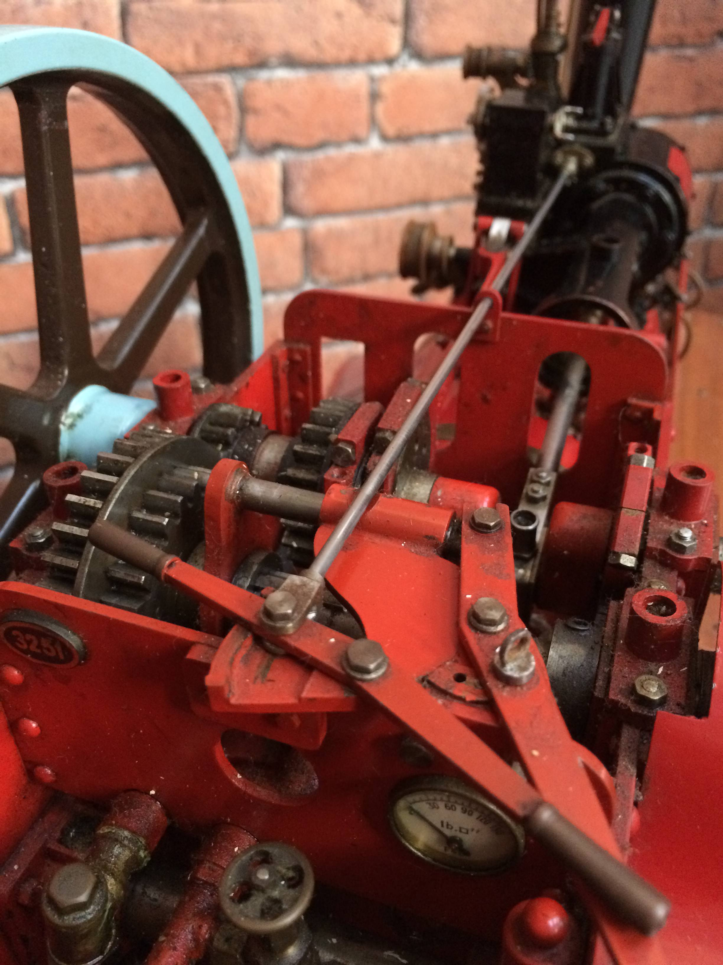 test 1 and a half inch scale royal chester alchin live steam traction engine for sale 12