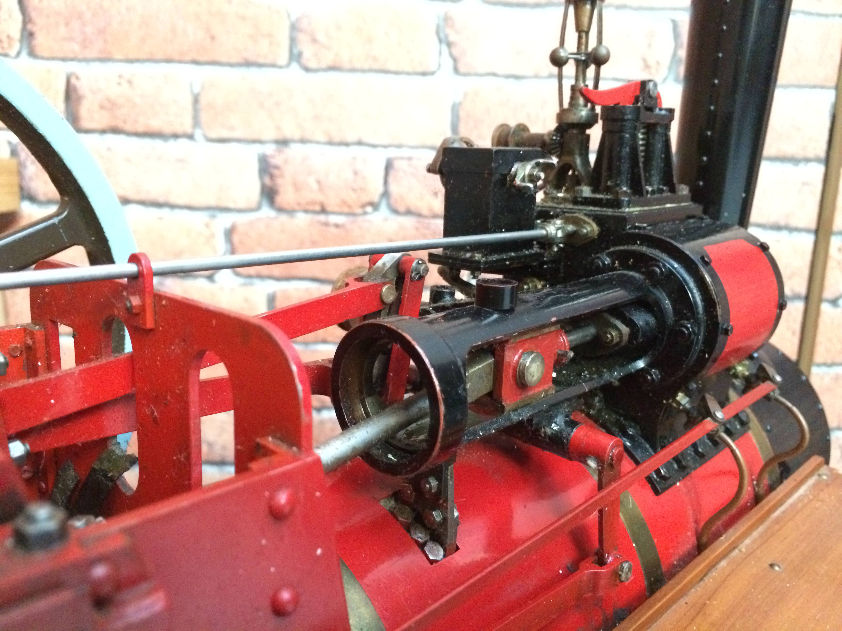 test 1 and a half inch scale royal chester alchin live steam traction engine for sale 13