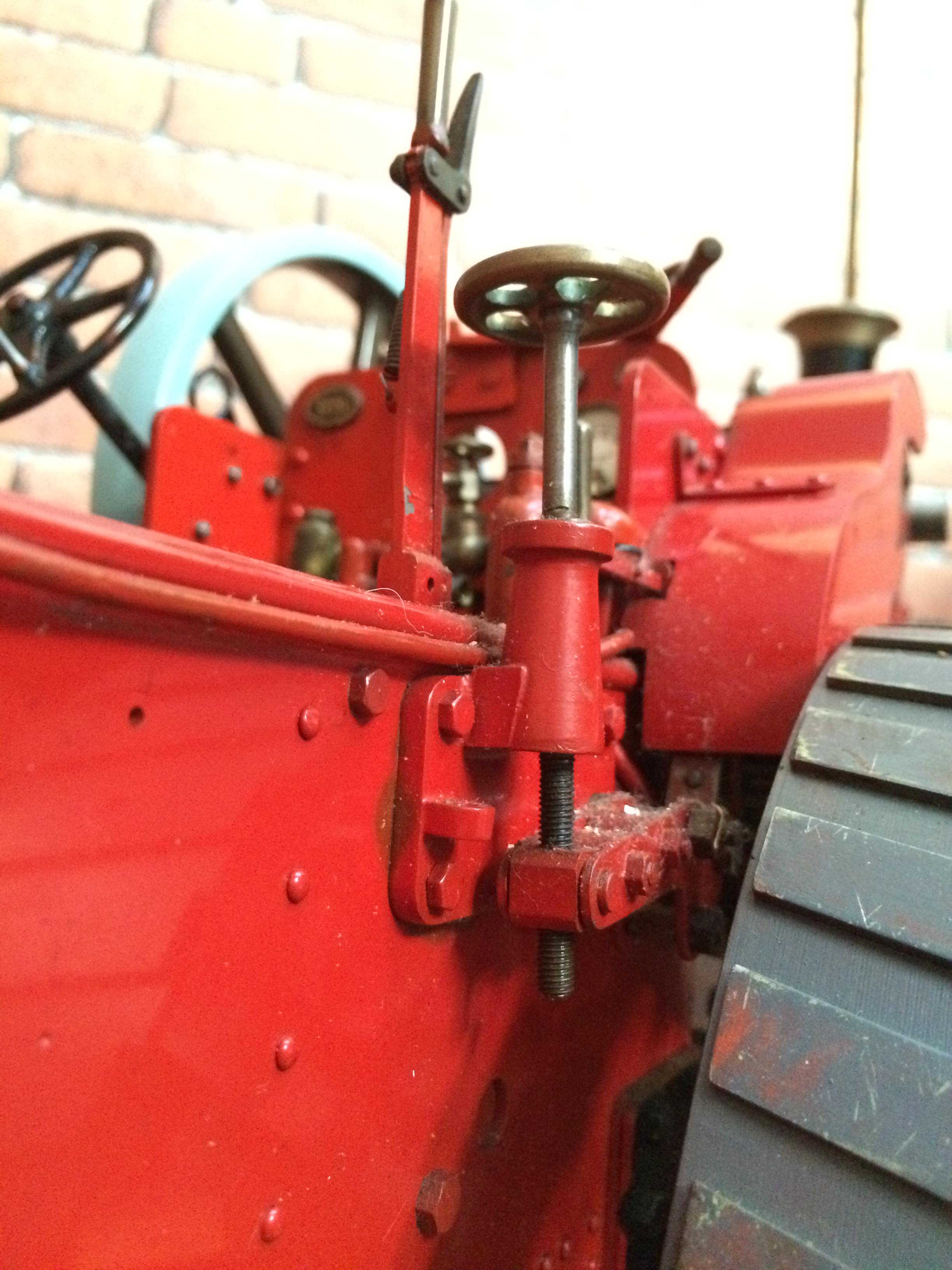 test 1 and a half inch scale royal chester alchin live steam traction engine for sale 16