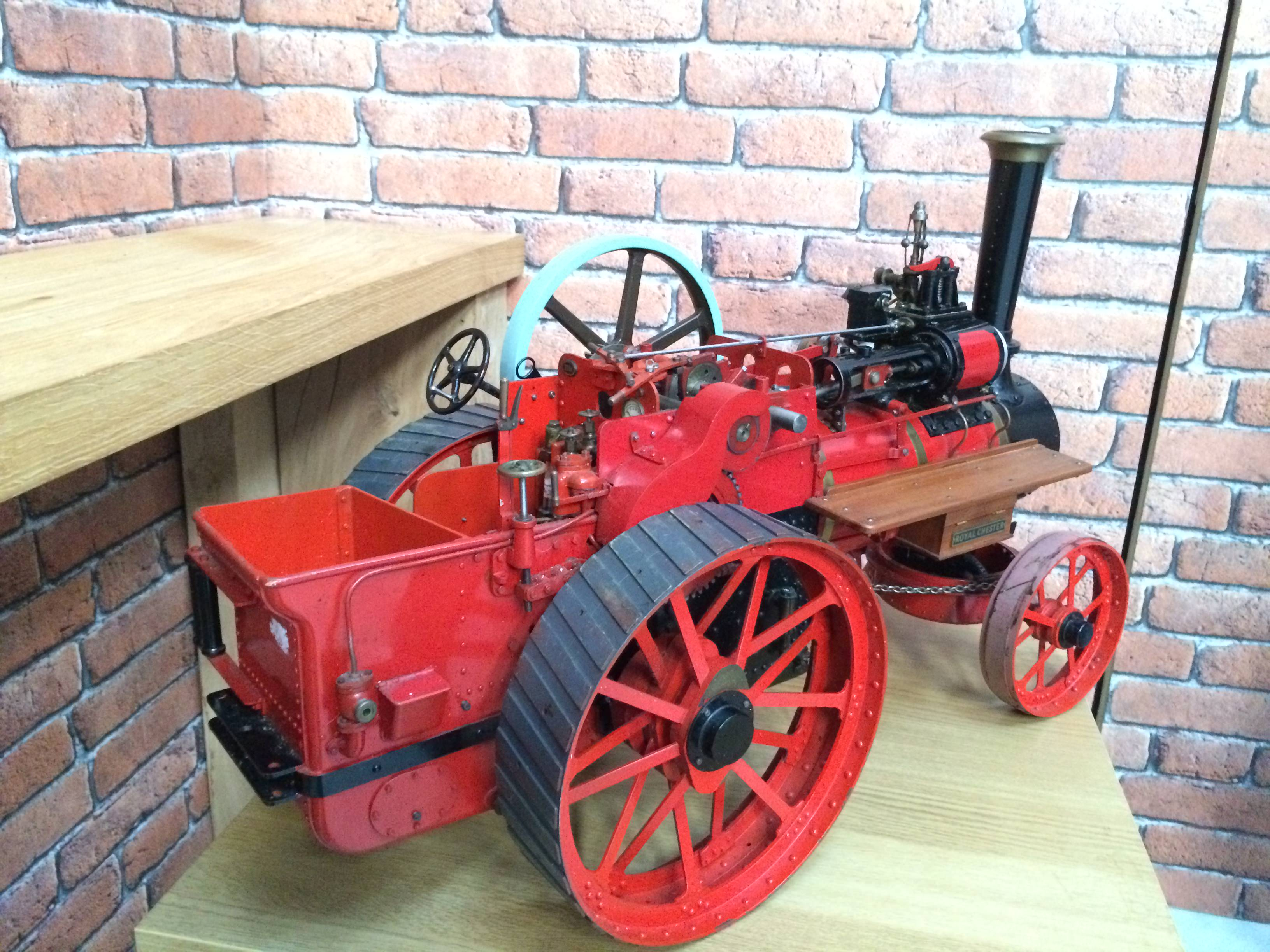 test 1 and a half inch scale royal chester alchin live steam traction engine for sale 19