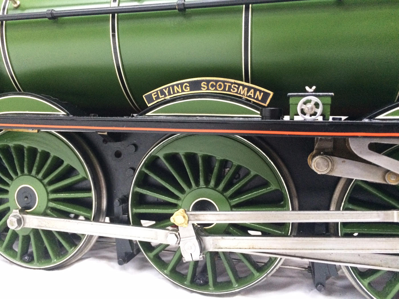 test gauge 3 live steam A3 Flying Scotsman for sale 01