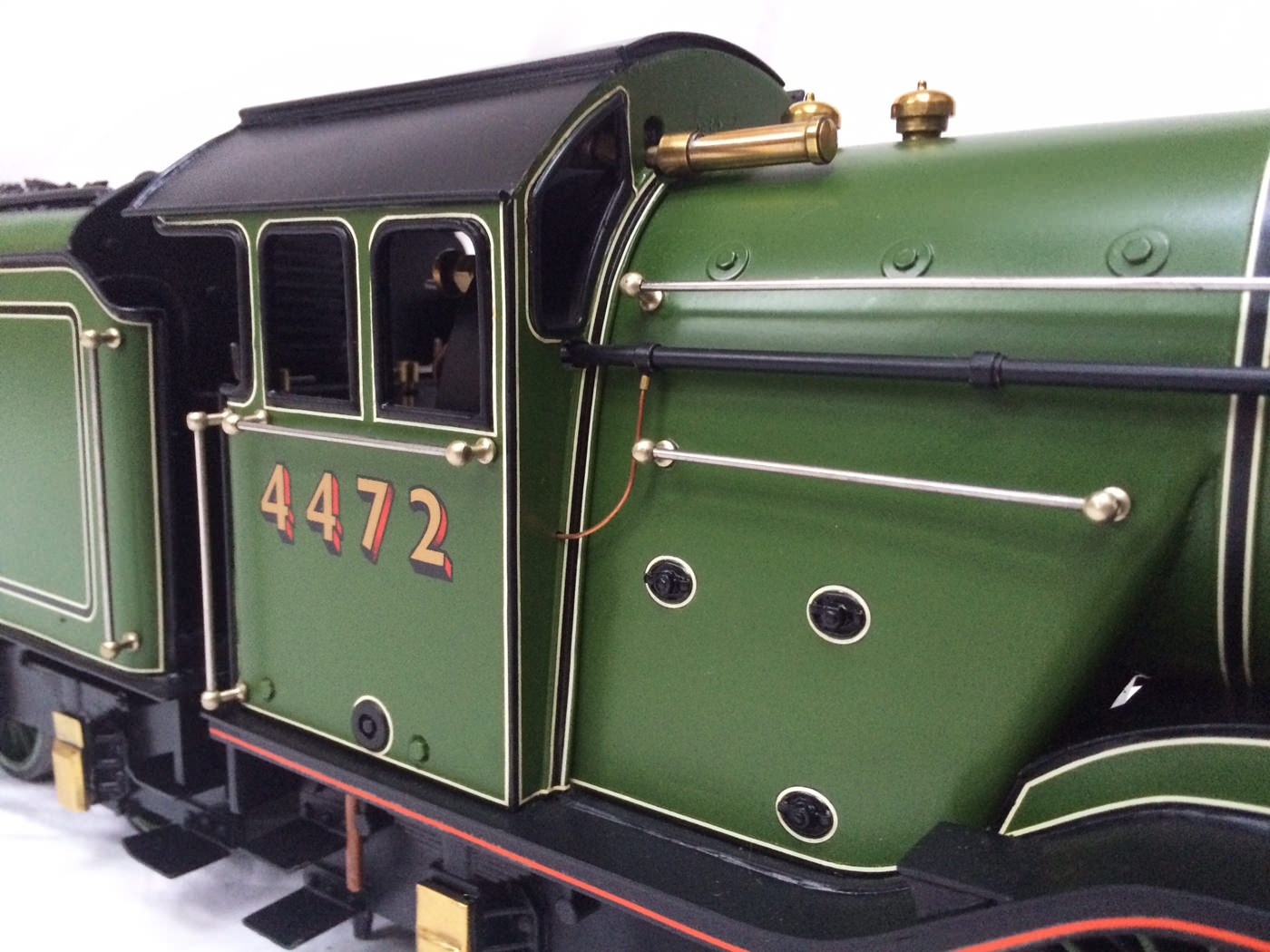 test gauge 3 live steam A3 Flying Scotsman for sale 04