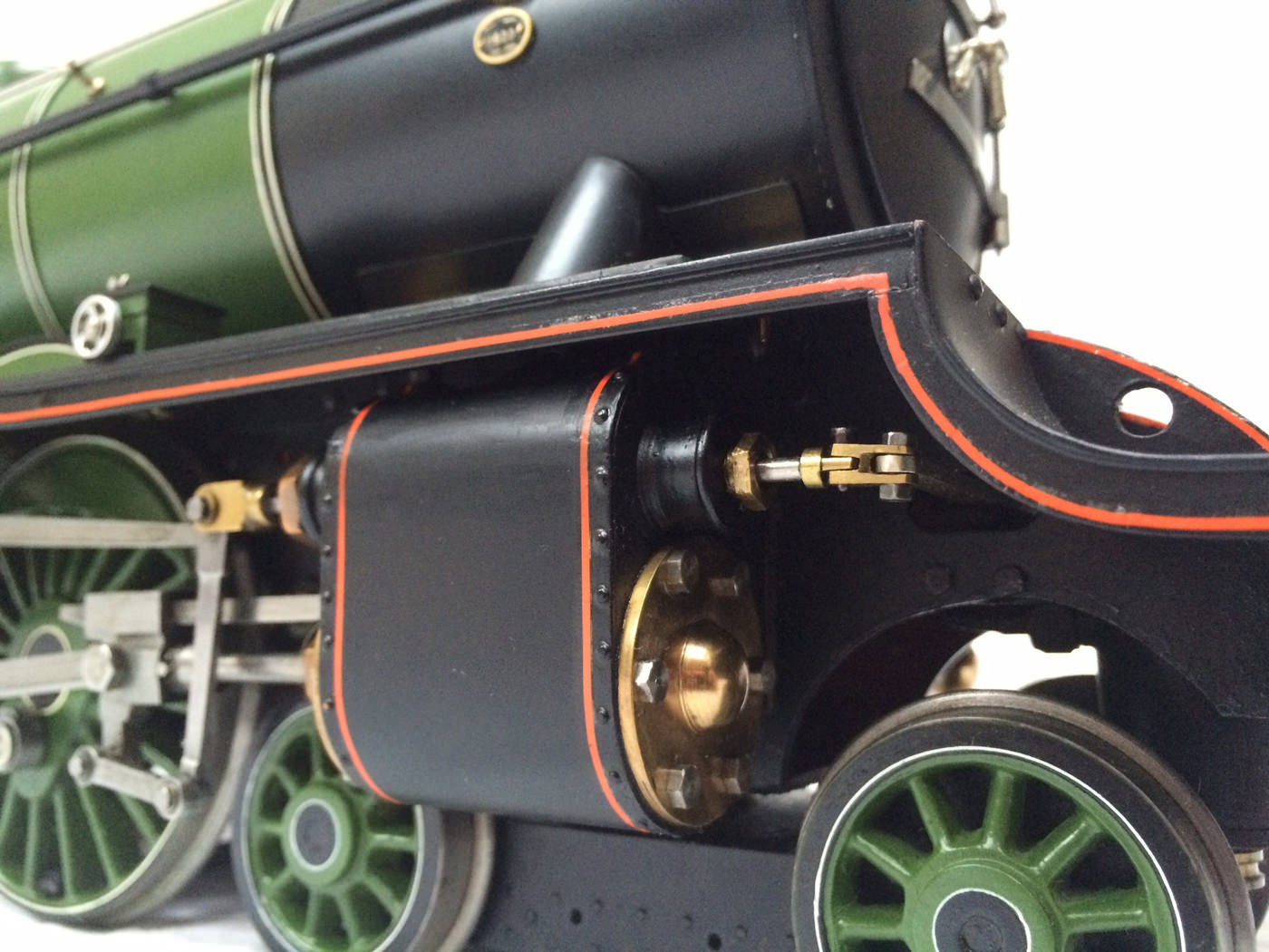 test gauge 3 live steam A3 Flying Scotsman for sale 08