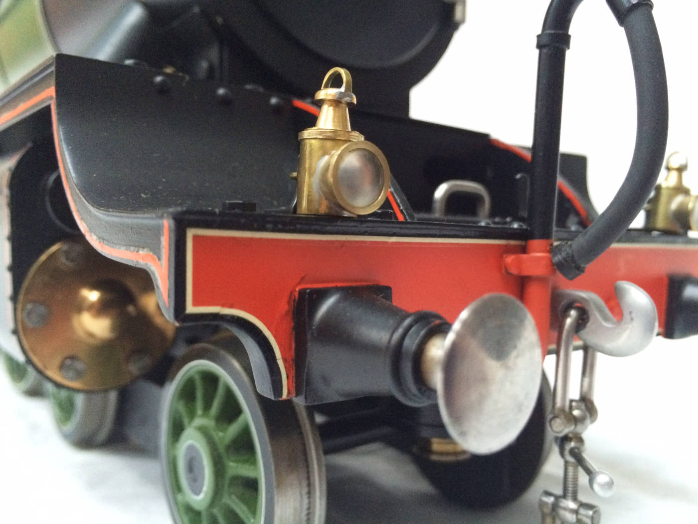 test gauge 3 live steam A3 Flying Scotsman for sale 09