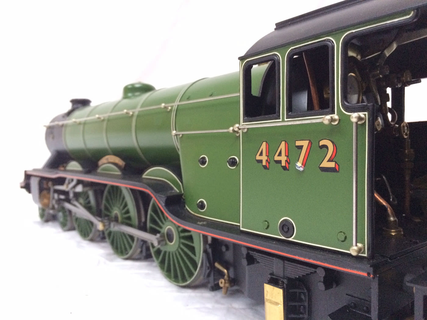 test gauge 3 live steam A3 Flying Scotsman for sale 13