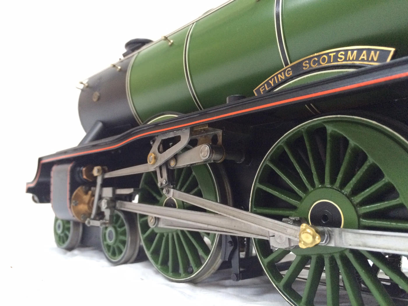 test gauge 3 live steam A3 Flying Scotsman for sale 15