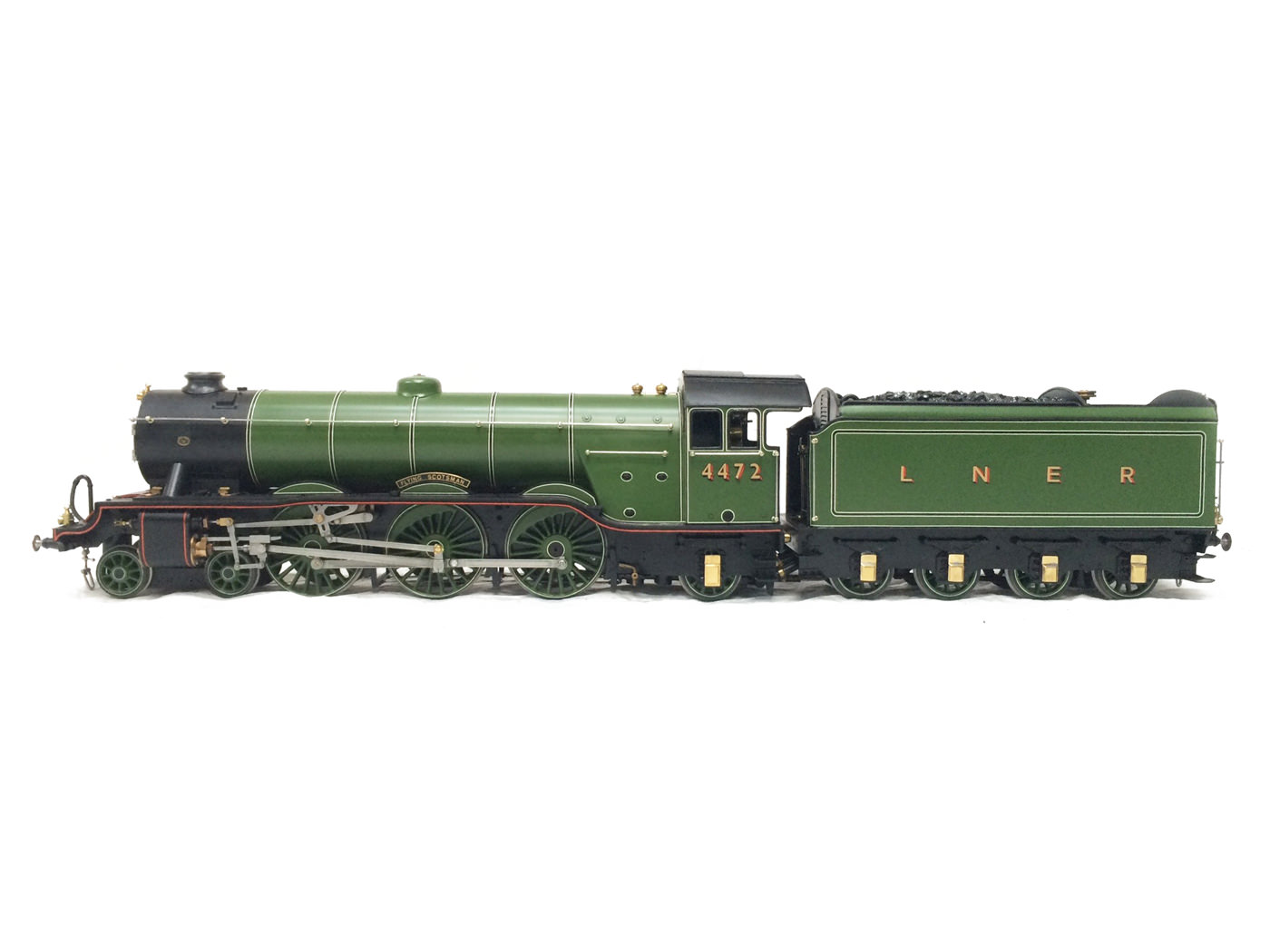 test gauge 3 live steam A3 Flying Scotsman for sale 27