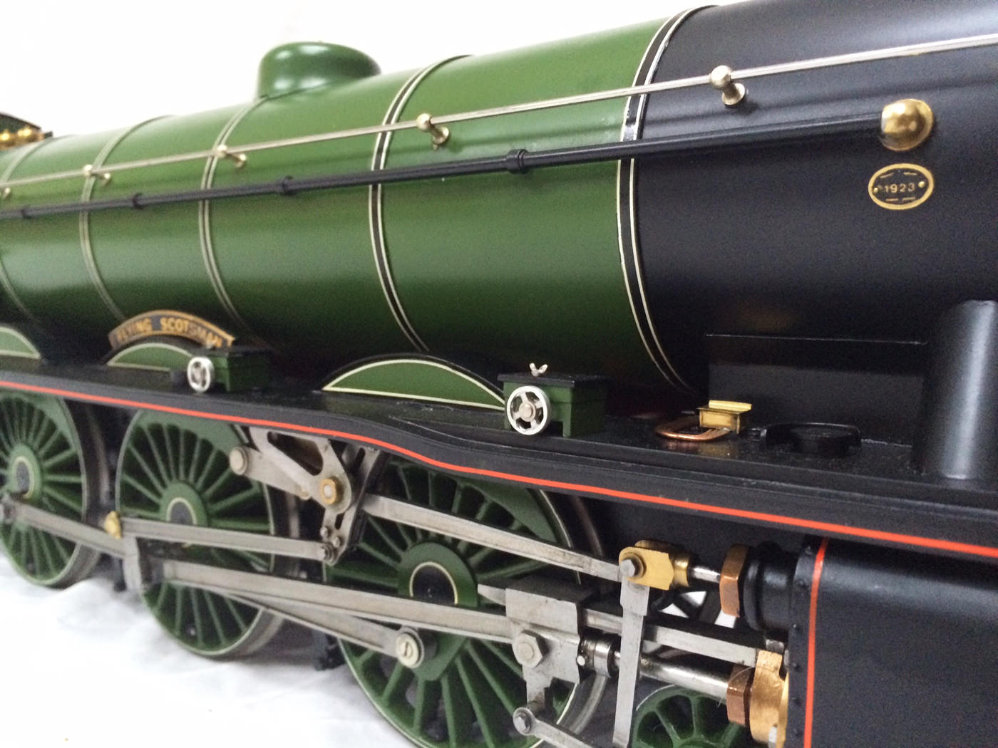 test gauge 3 live steam A3 Flying Scotsman for sale 28