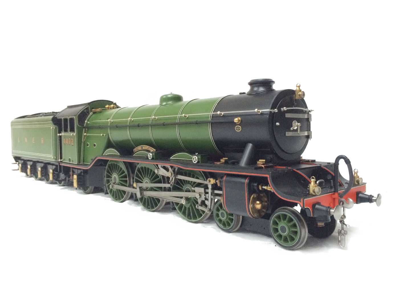 test gauge 3 live steam A3 Flying Scotsman for sale 29