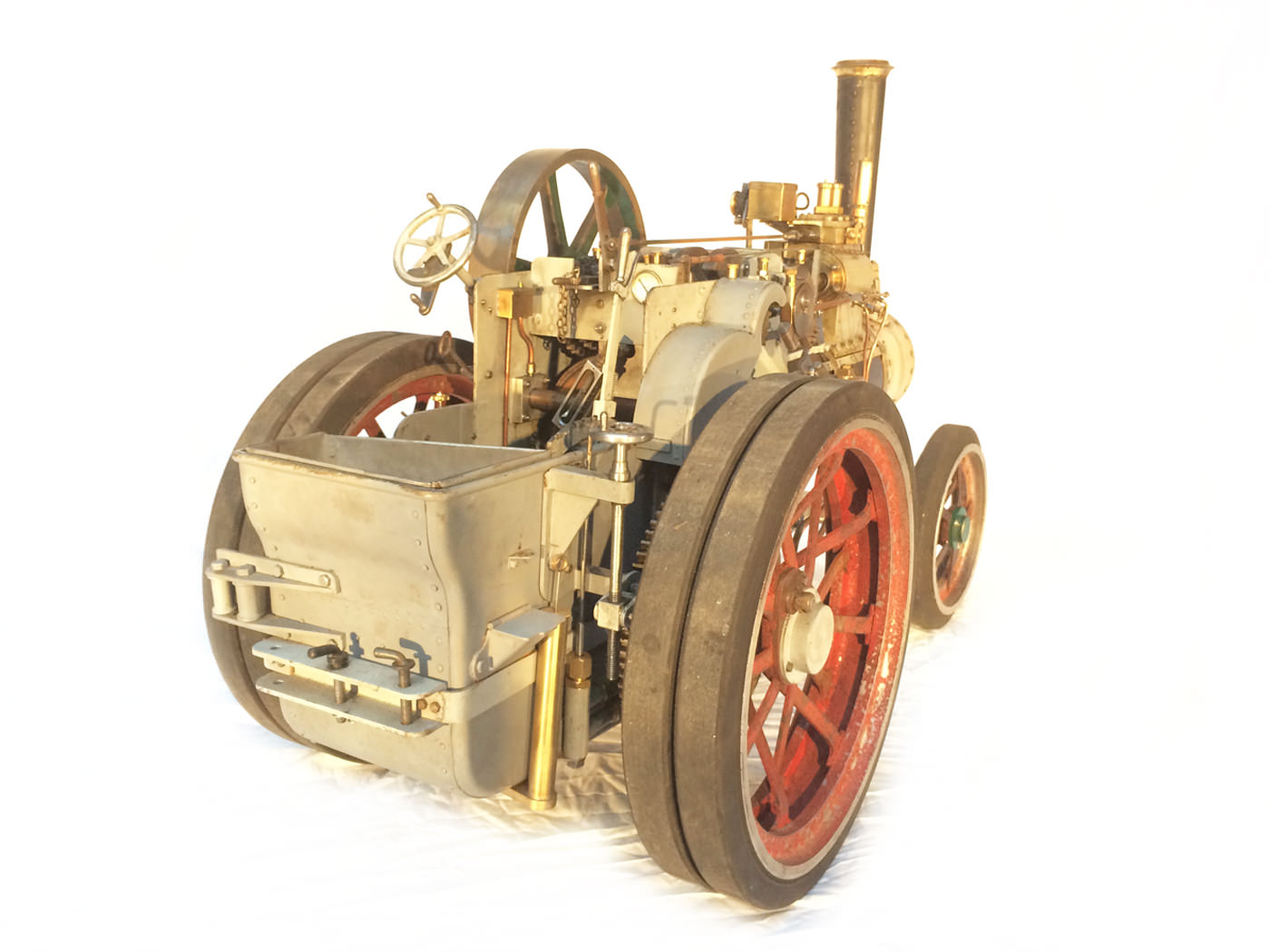 test 2 inch scale minnie traction engine live steam model for sale 10