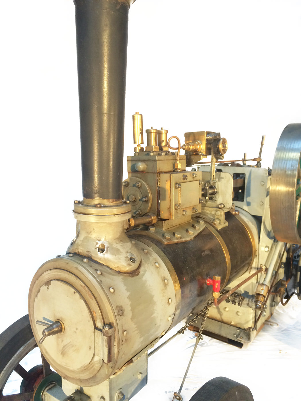 test 2 inch scale minnie traction engine live steam model for sale 19