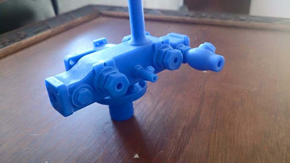 test 7 gauge standard class 4 tank manifold wax 01