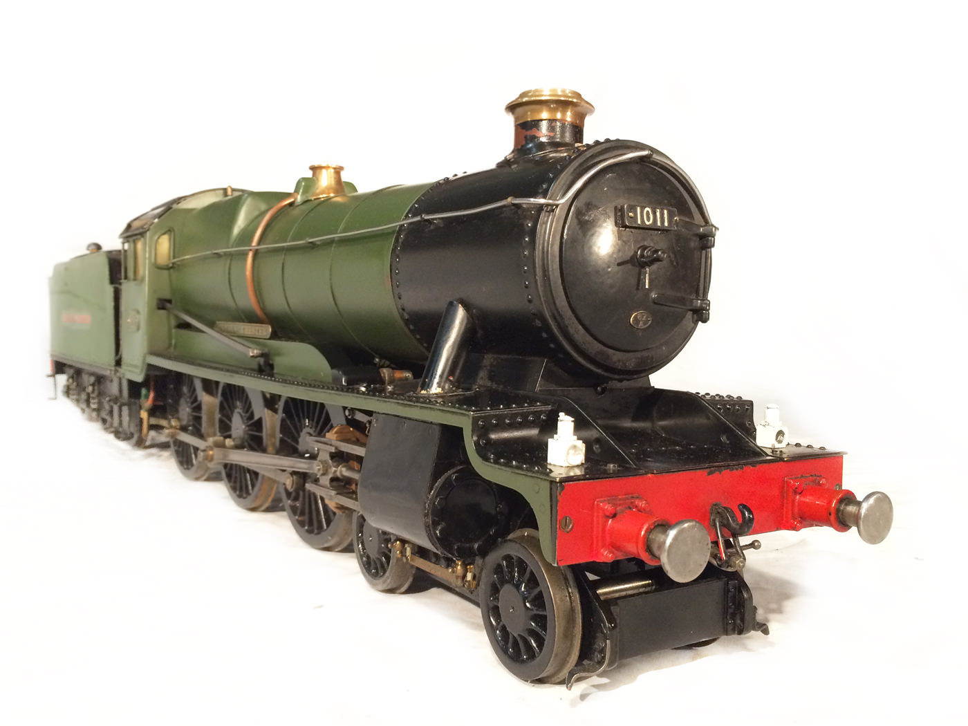 test 3 gauge GWR County live steam locomotive for sale 02