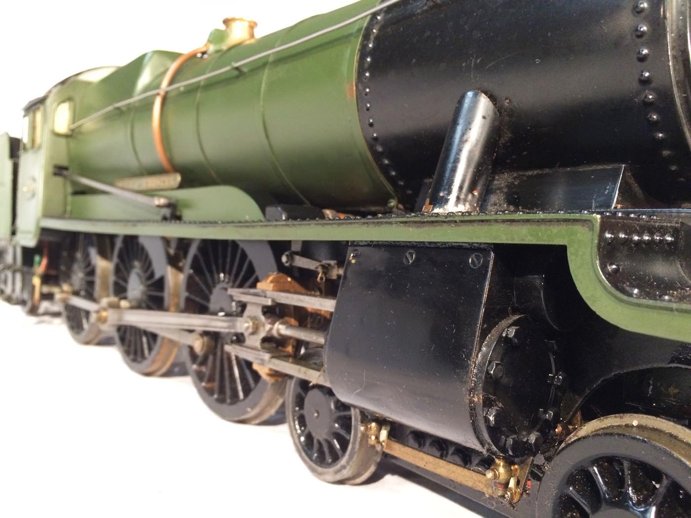 test 3 gauge GWR County live steam locomotive for sale 03