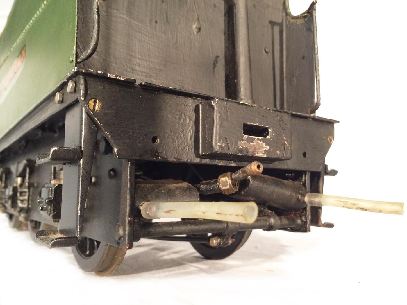 test 3 gauge GWR County live steam locomotive for sale 08