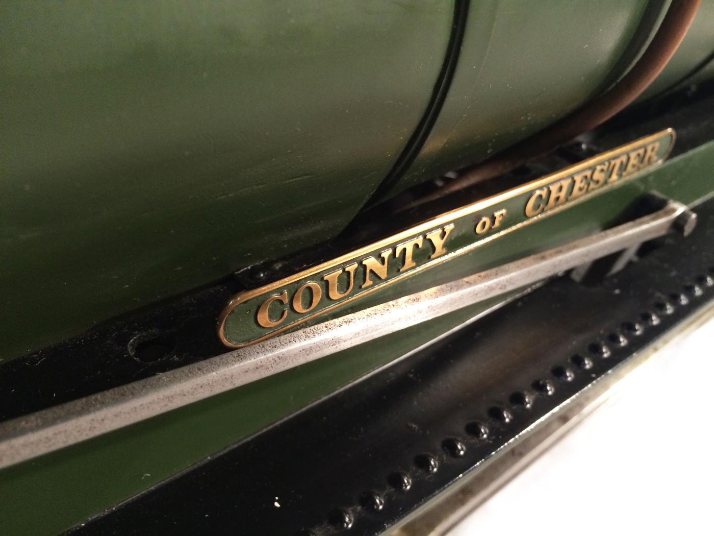 test 3 gauge GWR County live steam locomotive for sale 09
