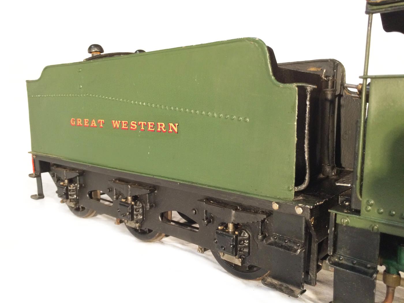 test 3 gauge GWR Hawksworth County live steam locomotive for sale 01