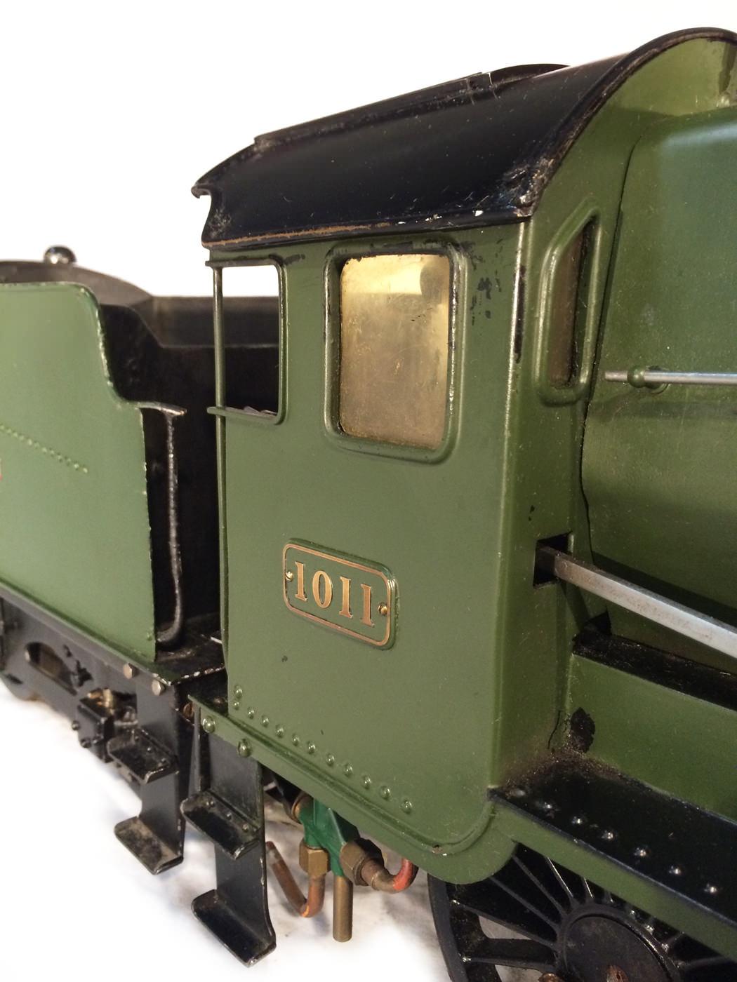 test 3 gauge GWR Hawksworth County live steam locomotive for sale 02
