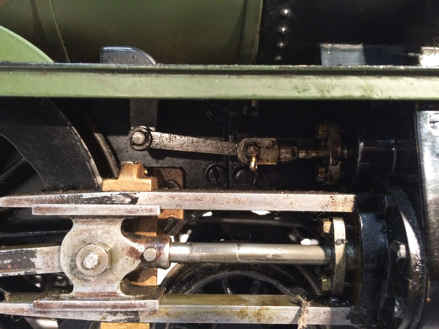 test 3 gauge GWR Hawksworth County live steam locomotive for sale 04