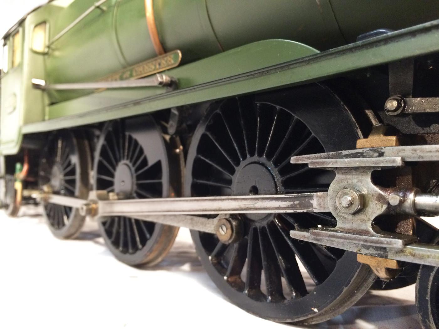 test 3 gauge GWR Hawksworth County live steam locomotive for sale 05