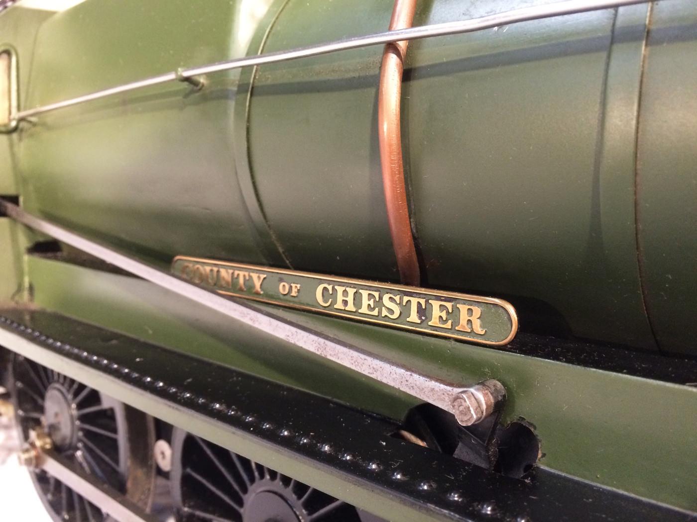 test 3 gauge GWR Hawksworth County live steam locomotive for sale 06