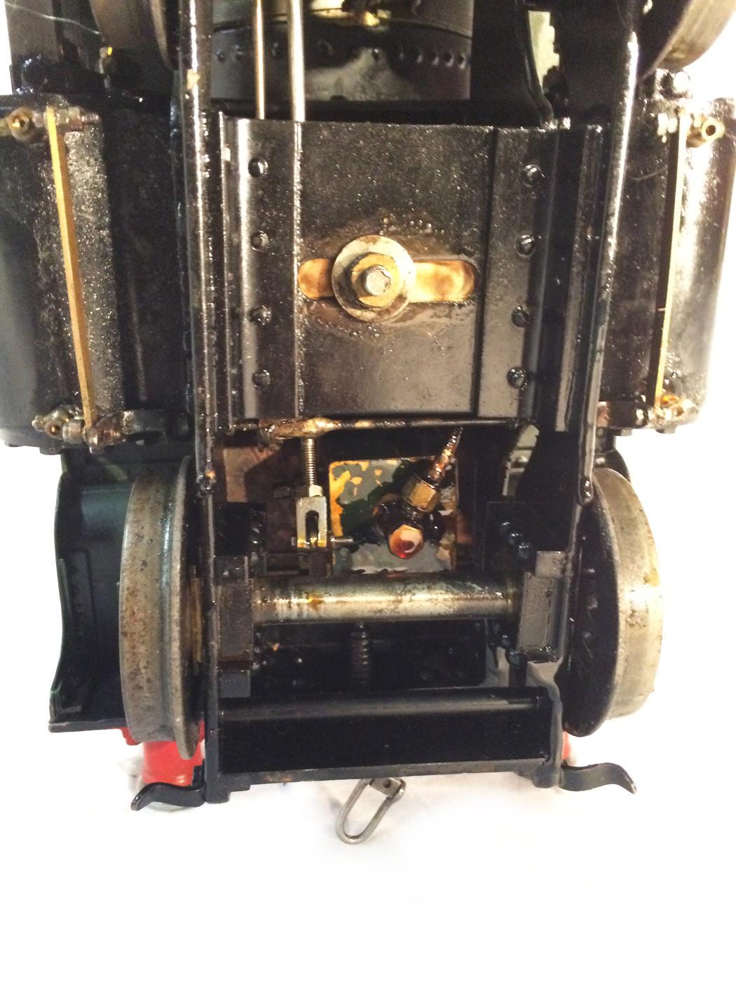 test 3 gauge GWR Hawksworth County live steam locomotive for sale 09