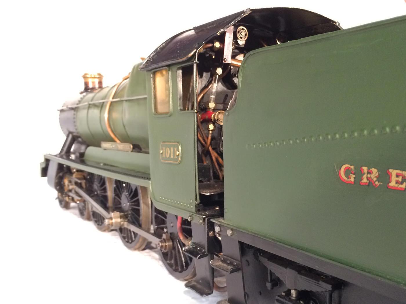 test 3 gauge GWR Hawksworth County live steam locomotive for sale 15
