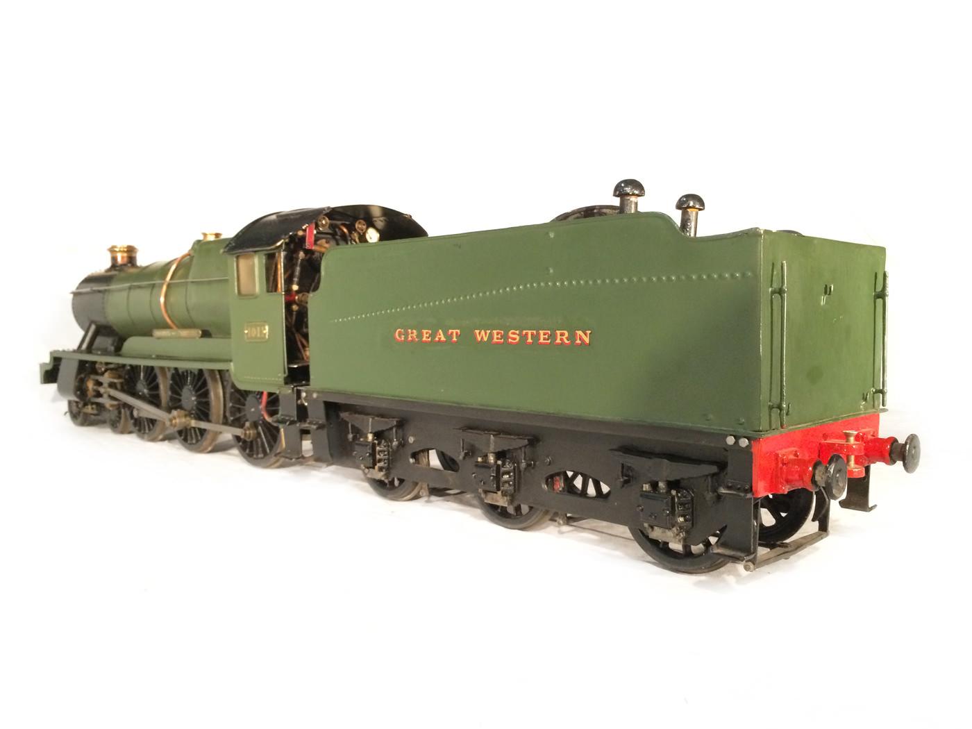 test 3 gauge GWR Hawksworth County live steam locomotive for sale 16