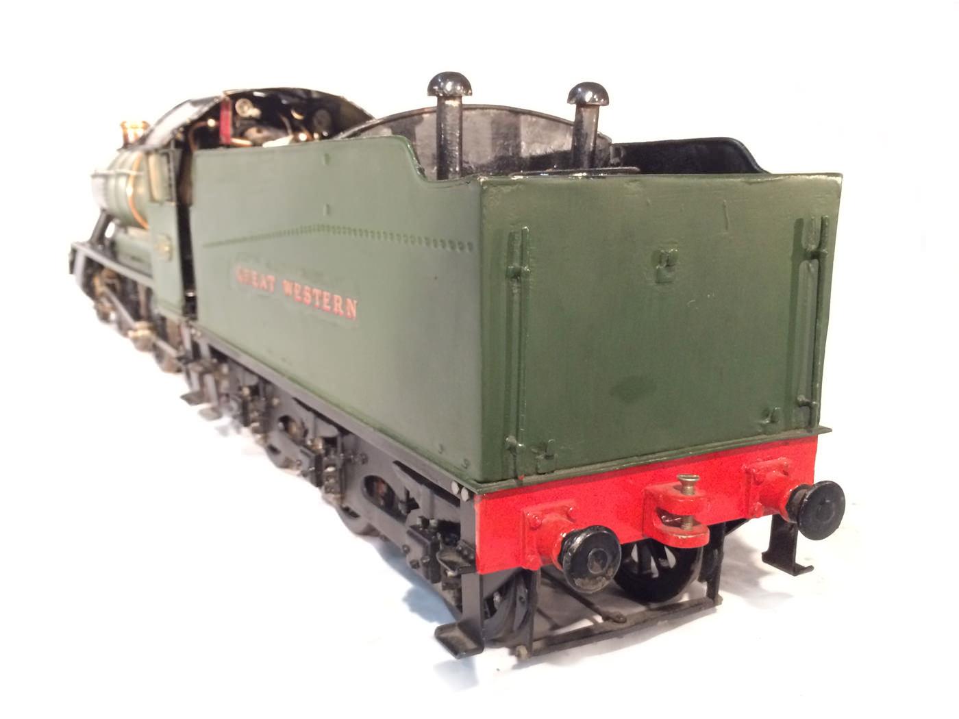 test 3 gauge GWR Hawksworth County live steam locomotive for sale 18