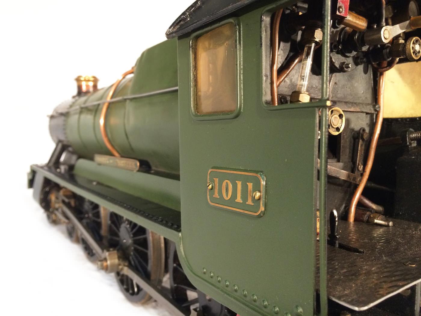 test 3 gauge GWR Hawksworth County live steam locomotive for sale 20