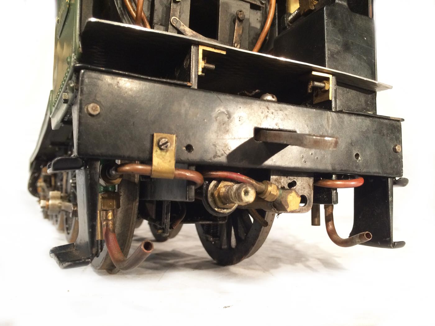 test 3 gauge GWR Hawksworth County live steam locomotive for sale 22