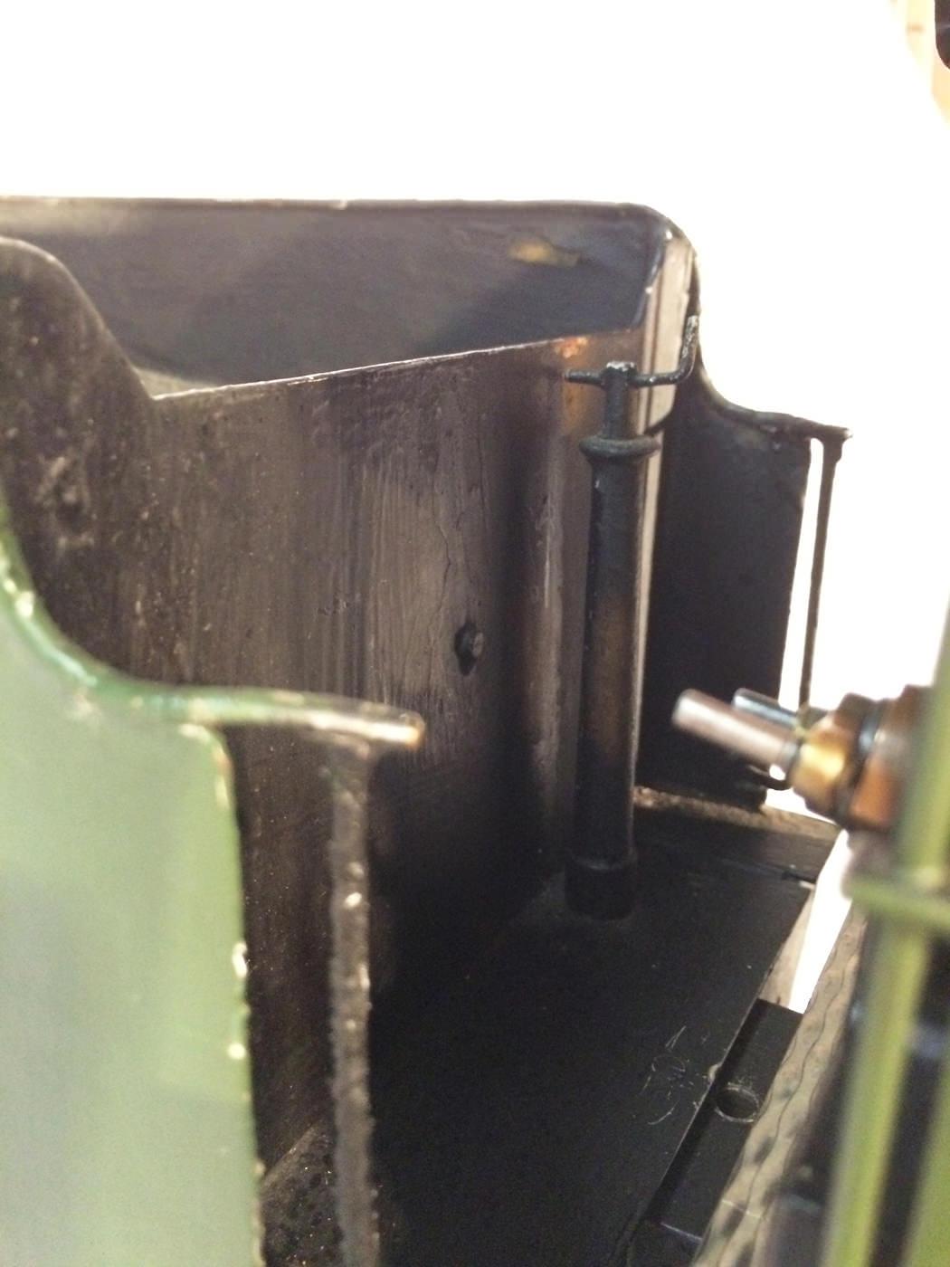 test 3 gauge GWR Hawksworth County live steam locomotive for sale