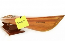 test Cedar Wood Kayak