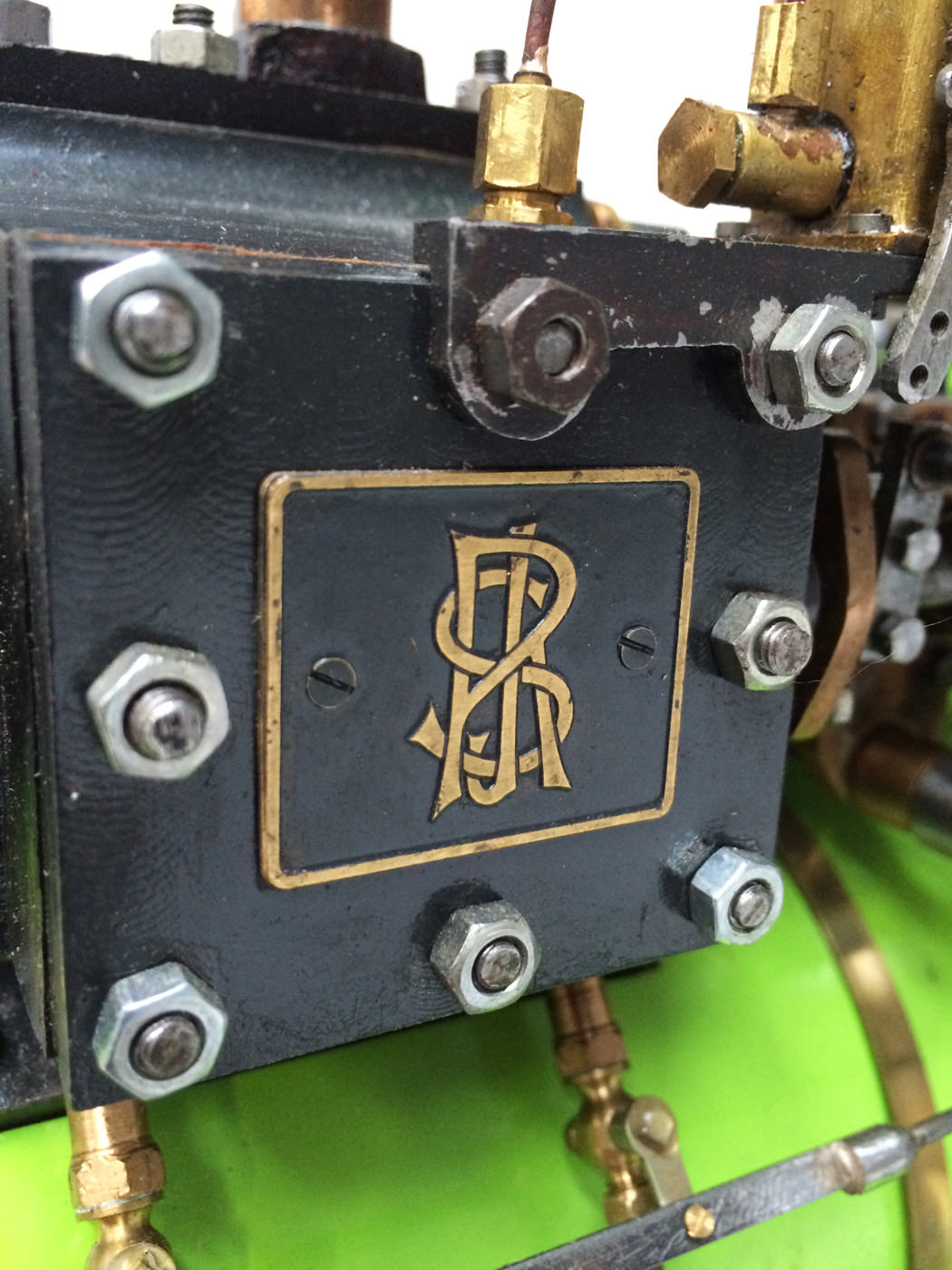 test 2 inch scale Ransomme Simms & Jeffreys Traction Engine Live Steam Model for sale 17