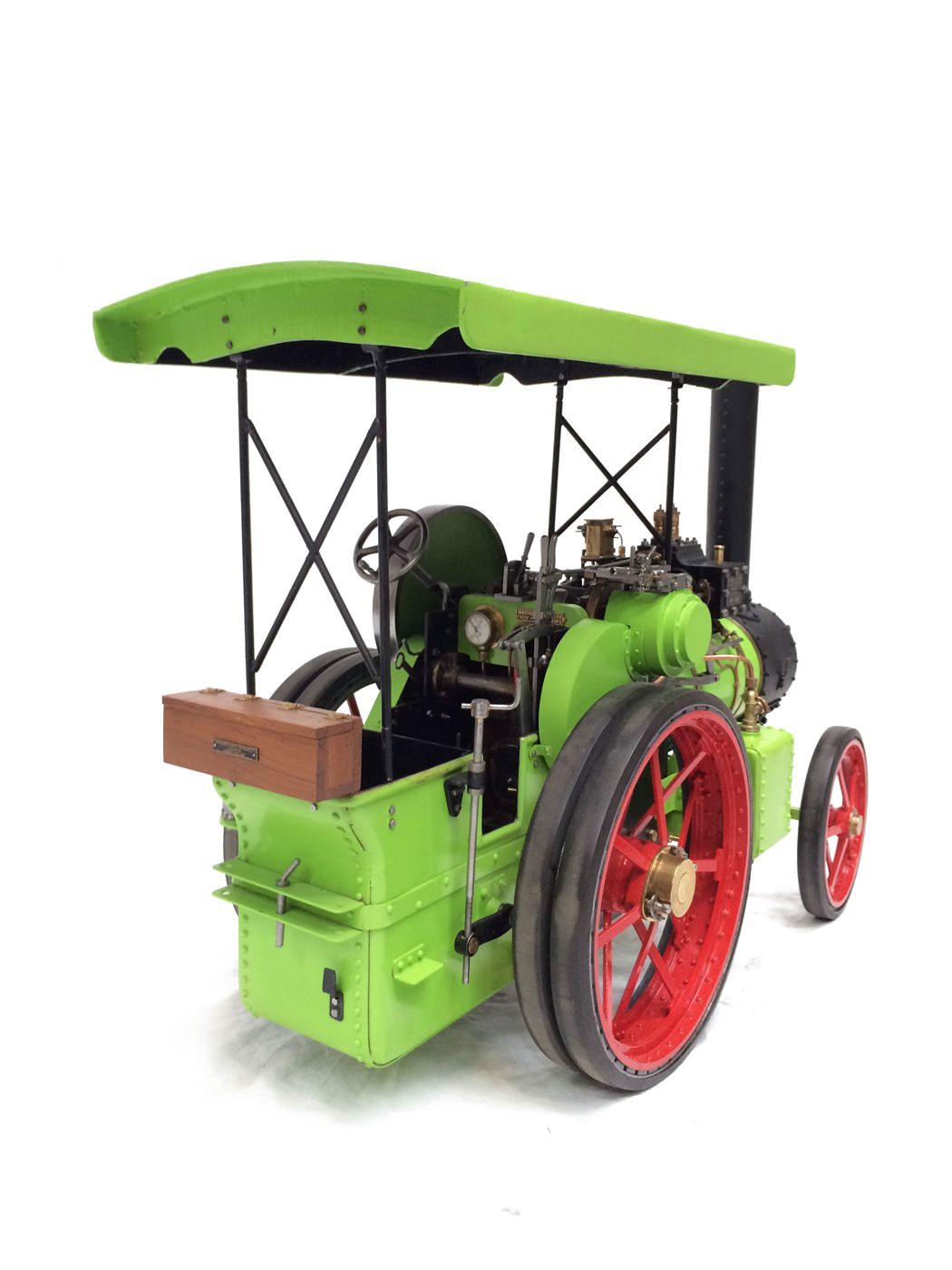 test 2 inch scale Ransomme Simms & Jeffreys Traction Engine Live Steam Model for sale 25