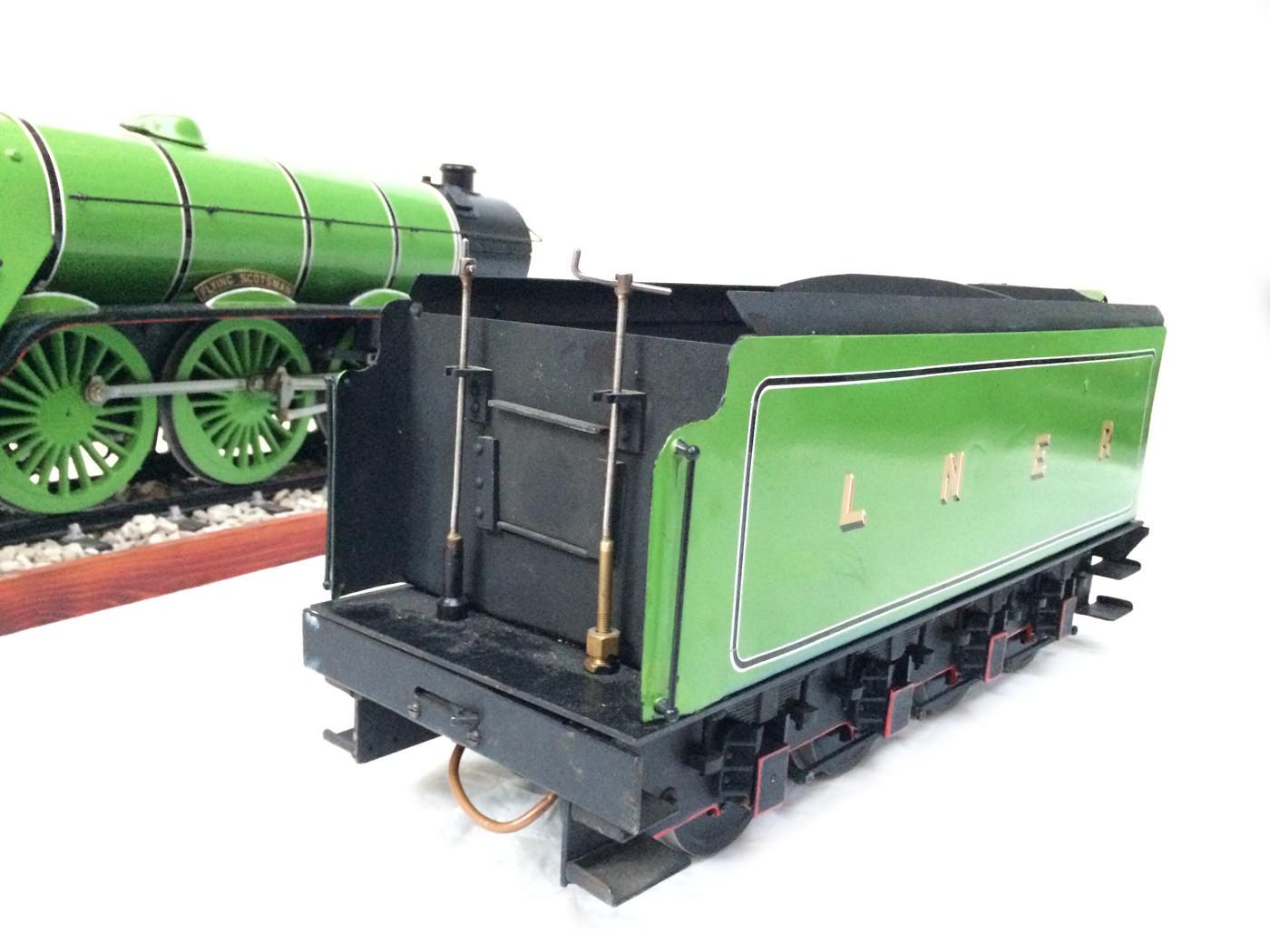 test 3 gauge LNER Gresley A3 Live Steam locomotive for sale 04
