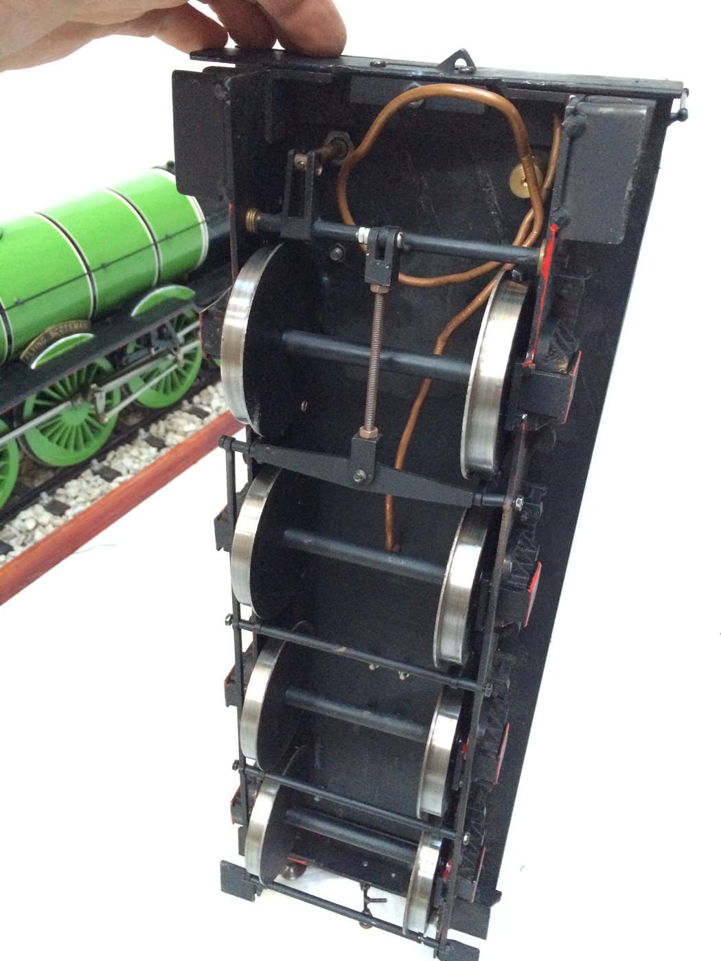 test 3 gauge LNER Gresley A3 Live Steam locomotive for sale 05