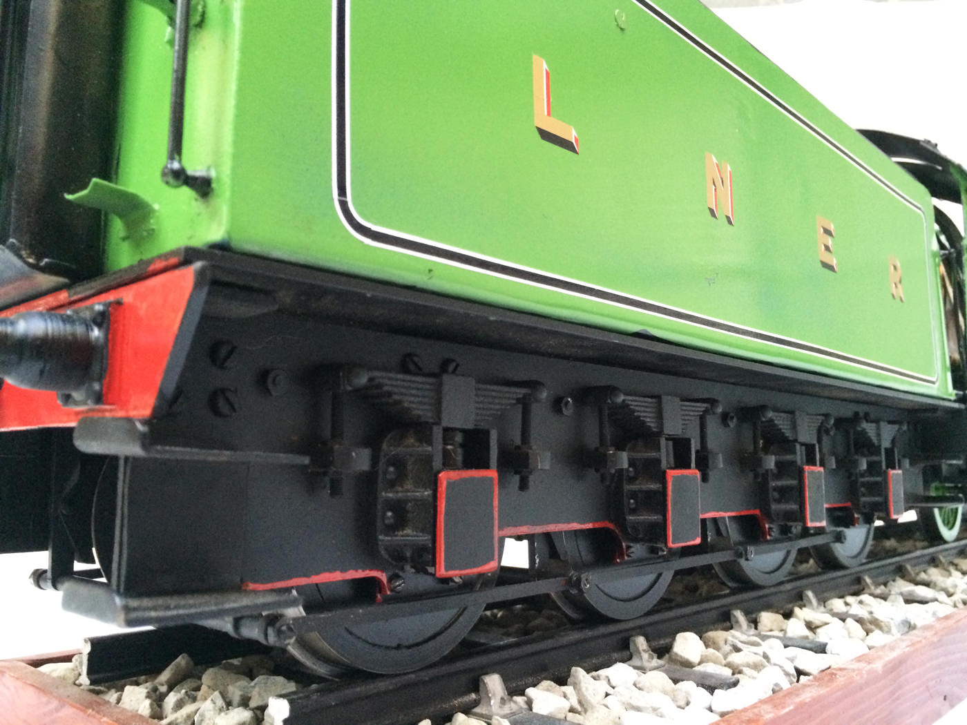 test 3 gauge LNER Gresley A3 Live Steam locomotive for sale 06