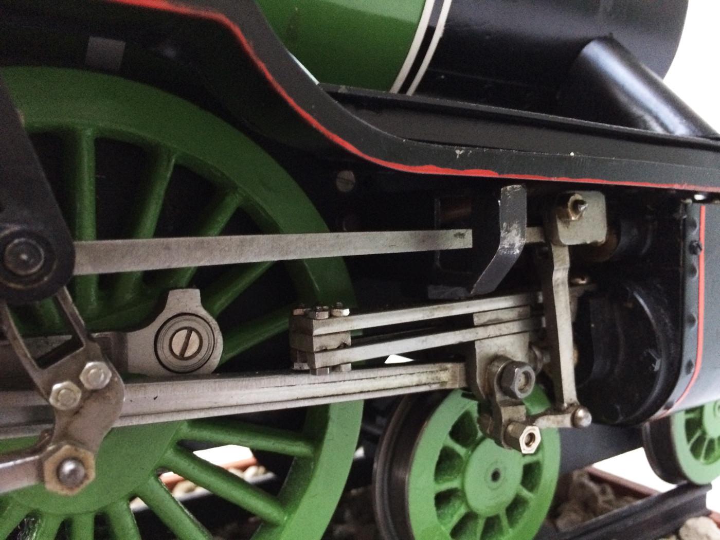 test 3 gauge LNER Gresley A3 Live Steam locomotive for sale 08