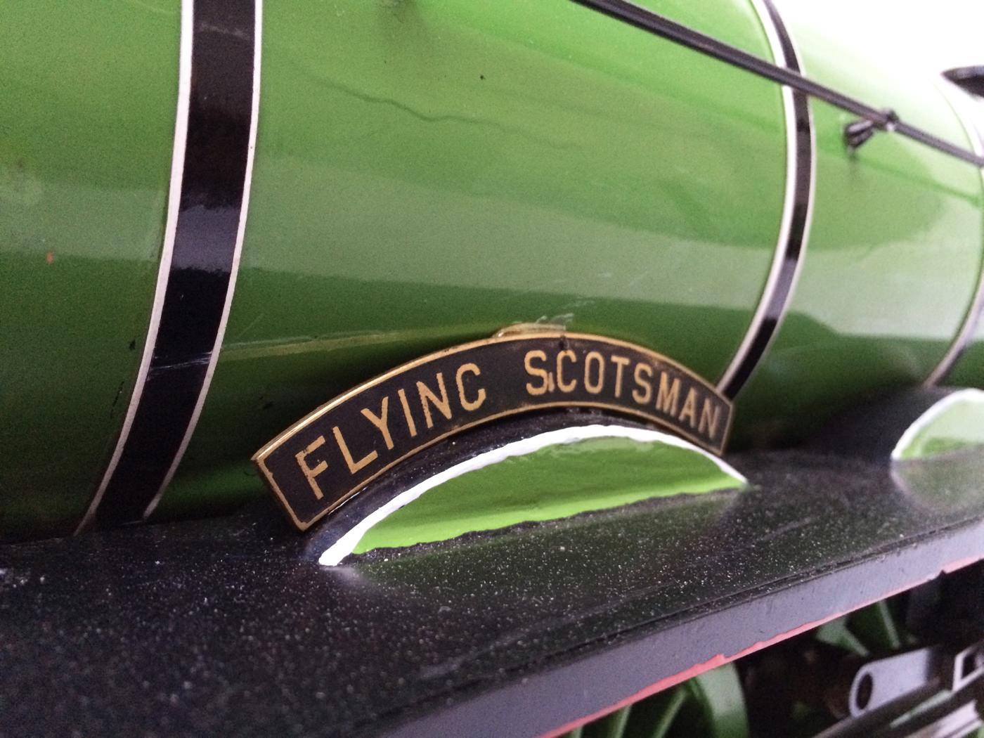 test 3 gauge LNER Gresley A3 Live Steam locomotive for sale 09
