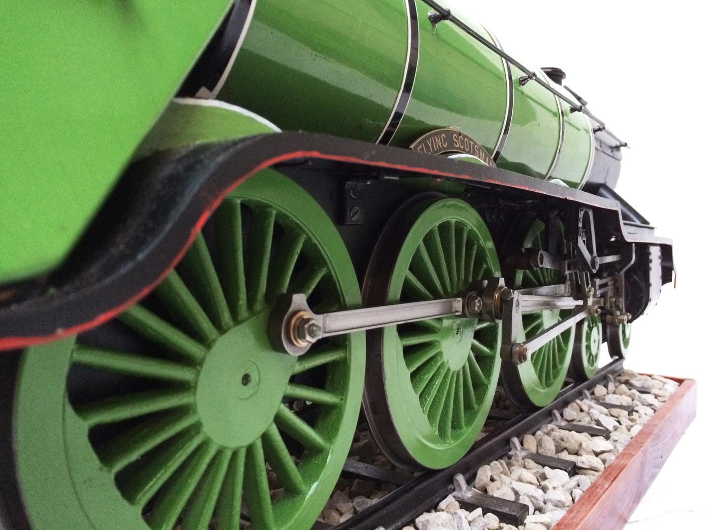 test 3 gauge LNER Gresley A3 Live Steam locomotive for sale 10