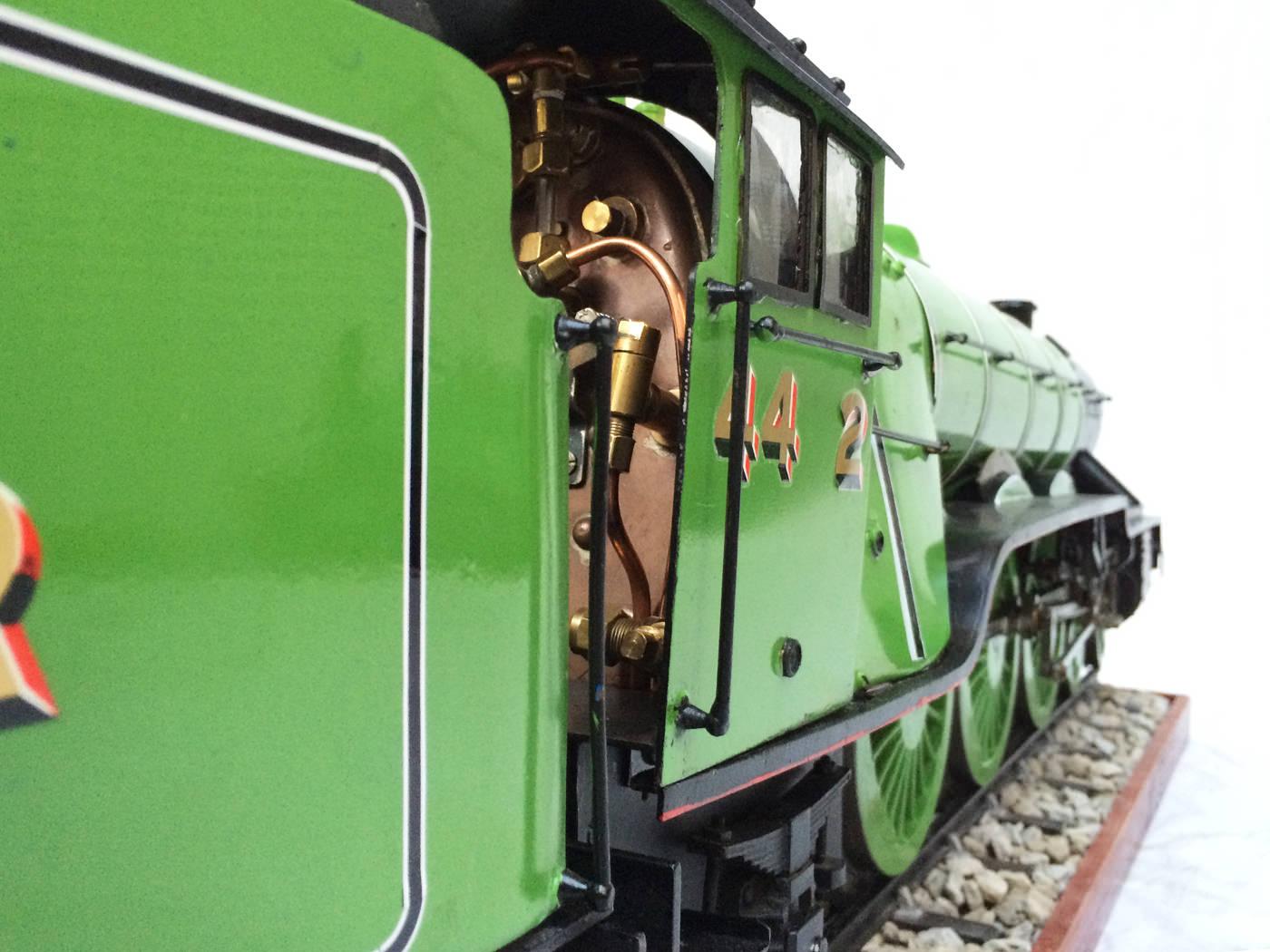 test 3 gauge LNER Gresley A3 Live Steam locomotive for sale 11