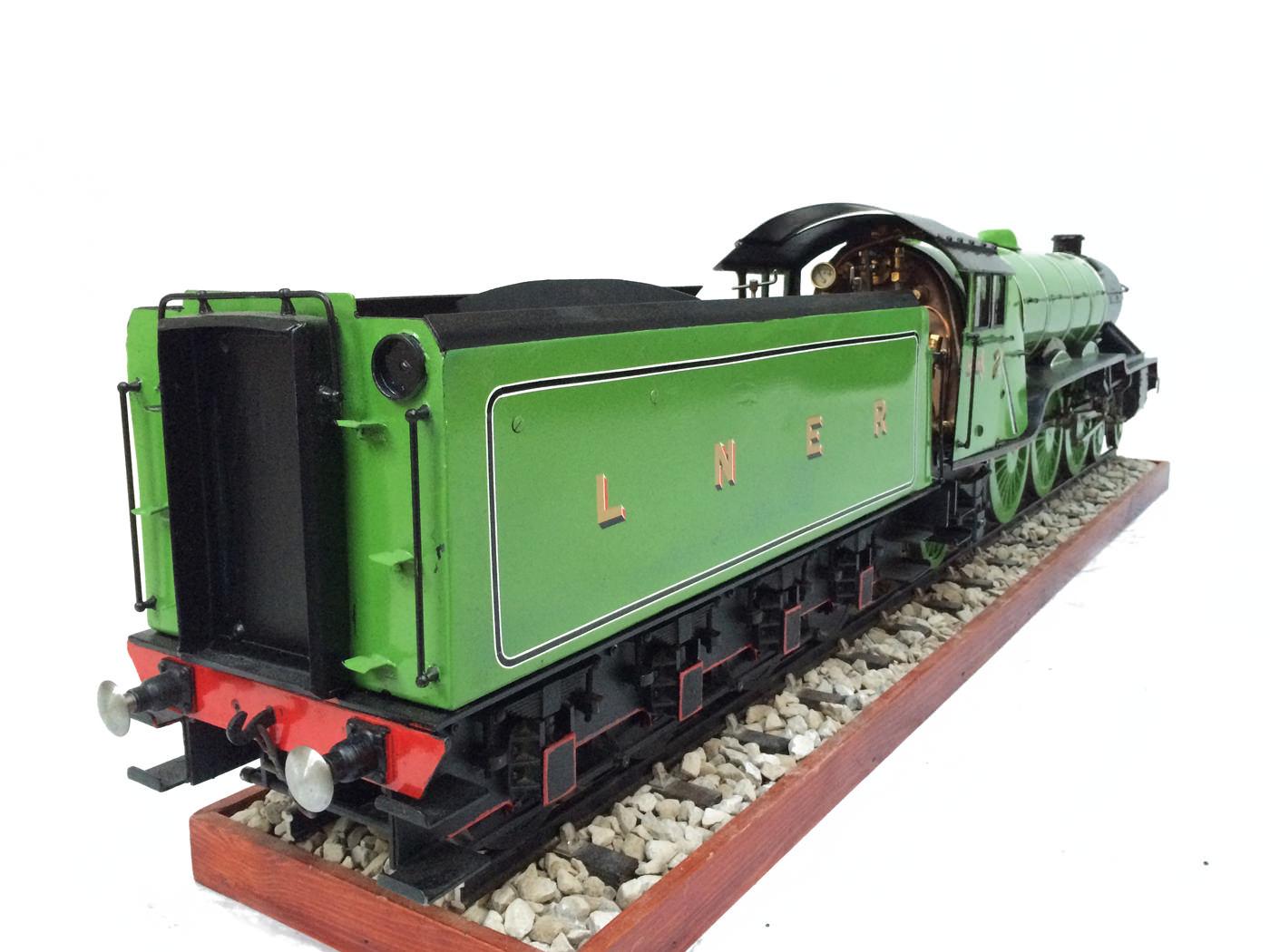 test 3 gauge LNER Gresley A3 Live Steam locomotive for sale 12