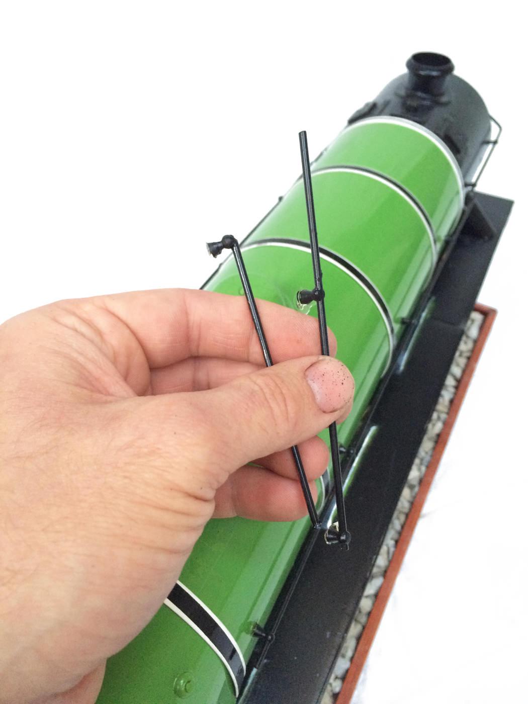 test 3 gauge LNER Gresley A3 Live Steam locomotive for sale 13