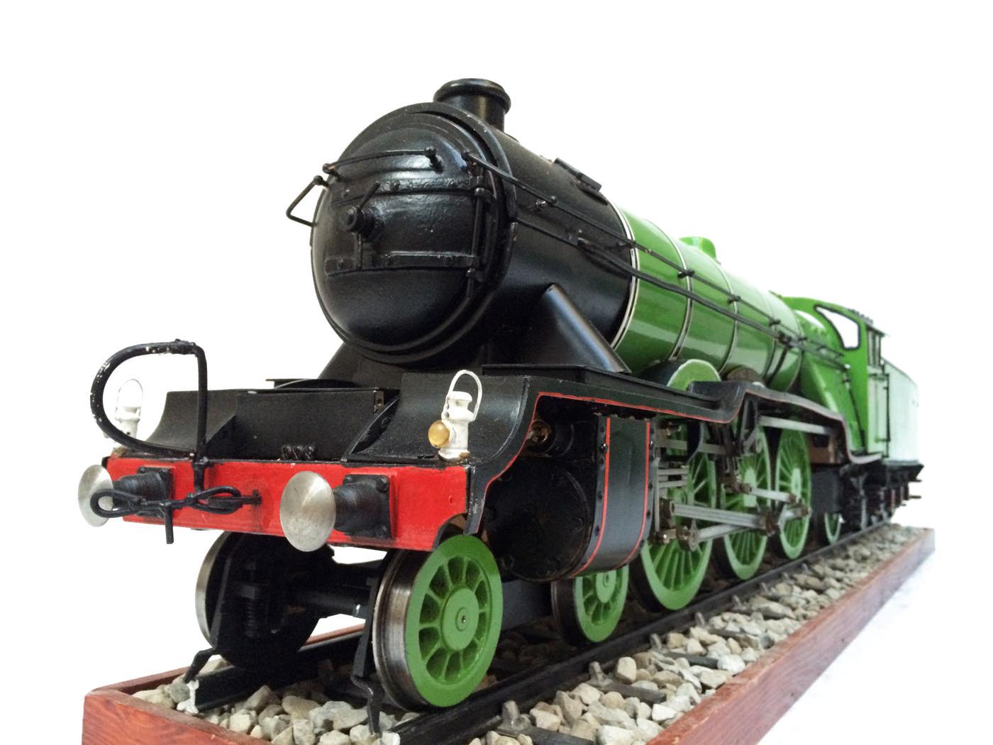 test 3 gauge LNER Gresley A3 Live Steam locomotive for sale 16